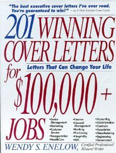 201 Winning Cover letters for $100,000+ Jobs. Call # RCL 13