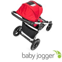 People love the UV 50+ sun canopy on the Baby jogger City Select because it really throws a lot of shade on a sunny day. It has two peek-a-boo windows so you can check on your little one and it can be adjusted to multiple positions as you open or close it.
