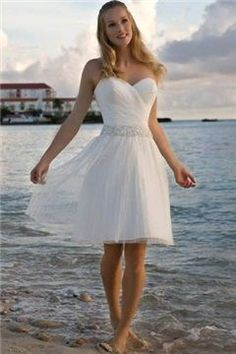 "$142.09, [Short Wedding Dresses] Brides Maids Weddings Gown Ballet Wrap Dress Embroidery ""Pill Wedding Gown, Quick Bridal Dresses"" Weddings Gown Second Chance Wedding Low Cut Sweetheart Neckline Plain Princesses Tall Tiered Buttons Down The Back Rhinestone Strapless Rhinestone Sashes Pinstripe."
