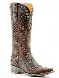 Stunning - Ladies+Old+Gringo+Chocolate+Raelene+Western+Boots+-+ Texas Cowboy Boots, Cowgirl Boots, Western Boots, Western Wear, Rodeo Chic, Cowgirl Chic, Western Chic, Liberty Boots, Boots Beauty
