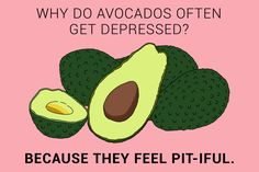 If you've hit guac bottom, these puns are avocado this world. Distance Relationship Quotes, Relationship Tips, Avocado Good For You, Jeremy London, Avocado Puns, Mental Health Humor, Mexican Jokes, Thought Catalog, All Things Cute