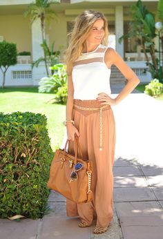 Perfect summer trendy look #tanchic