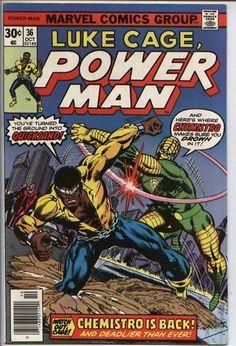 Luke Cage Power Man 35 36 Comics Chemistro Is Back | eBay