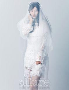 miss A's Suzy Allure Korea Magazine