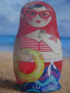 はじめましてのスパシーバ <藍のオデッサ編> nesting dolls matrochka-matriochka-matryoshka-matroesjka-matroschka-matrioska www.matrioskas.es