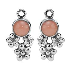 Pandora Xmas(Christmas) Silver and Pink Opal Bouquet Compose Earrings Clearance Deals Pandora Earrings, Opal Earrings, Flower Earrings, Pandora Jewelry, Pandora Charms, Jewelry 2014, Bouquet Charms, New Pandora, Pink Opal