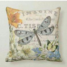 Personalized Pillows, Custom Pillows, Butterfly Pillow, Asian Home Decor, Textiles, Vintage Pillows, Paris, Throw Pillow Cases, Designer Throw Pillows