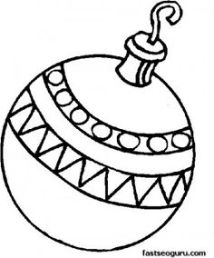 find this pin and more on printable coloring page for kids ornament color page - Printable Coloring Ornaments