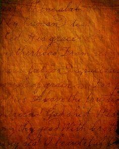 Antique Script Texture by SolStock.deviantart.com on @deviantART