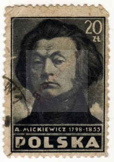 20 zł Adam Mickiewicz (stempel) :: OGROM.COM
