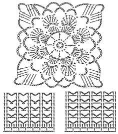 Схема кофточки крючком
