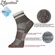 New arrival at our store: Hot selling Hot N.... Have a look at it now! http://www.yogamarkets.com/products/hot-selling-hot-new-mens-outdoor-cycling-walking-running-hiking-25-wool-sport-causal-socks?utm_campaign=social_autopilot&utm_source=pin&utm_medium=pin