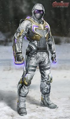 Sci-Fi Snow Soldier | Avengers Age of Ultron « joshnizzi.com