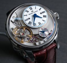 Maurice Lacroix Masterpiece Gravity Watch Hands On   hands on
