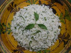 Jasmine Rice for tryptophan triggered by the high glycemic index Glycemic Index, Rice Salad, Jasmine Rice, Canapes, Lemon Grass, Finger Foods, Carne, Make It Simple, Food And Drink