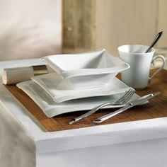 Better Living Maiko White 16-Piece Porcelain Dinnerware Set - Beyond the Rack