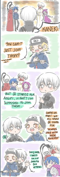 How Tokyo Ghoul √A Should Have Happened ||| Kaneki, Hide, and Aogiri ||| Tokyo Ghoul Fan Art