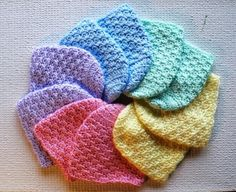 Newborn Caps - Baby Hats by JeanieK | Crocheting Ideas