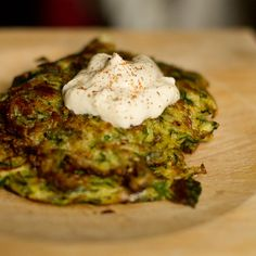 Season with Saltbush- recipes using native Australian herbs/spices- zucchini & tanami fire fritters
