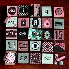 Holiday Countdown: Free Printable DIY Advent Calendars