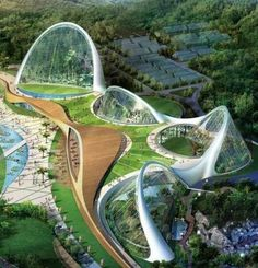 Earlier this week, South Korea's National Ecological Institute released some amazing concept pictures of a sprawling 33,000 sq.mile nature reserve.