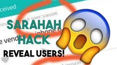 HACK SARAHAH ONLINE-REVEAL THE USERNAME'S AND EMAIL WHO SEND YOU MESSAGES ON SARAHAH APP