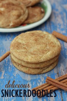 Our favorite Snickerdoodle Recipe! #snickerdoodles