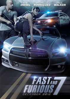 Fast and Furious 7 -- :( Not going to be the same now since Paul Walker is gone...