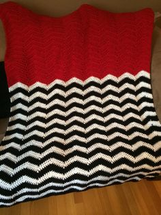 Twin Peaks blanket idea