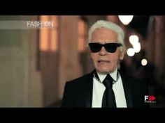 "▶ Karl Lagerfeld Interview ""Chanel Cruise Collection"" Autumn Winter 2013 2014 Singapore by Fashion Cha - YouTube"