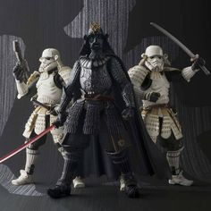 Tamashii Nations has added the Akazonae Royal Guard to its line of samurai-inspired @starwars figurines. Head to hypebeast.com to see more.