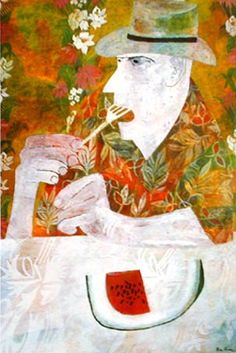 a remarkable artist/designer-Pamela Museum Of Fine Arts, Museum Of Modern Art, Ben Shahn, Jazz Art, African Art, American Artists, Figurative Art, Mixed Media Art, Art Images