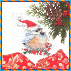Design by Suzi: ❆ adventná nedeľa: Vtáčik ❆ Cross Stitch, Flag, Christmas Ornaments, Pictures, Design, Art, Photos, Art Background, Punto De Cruz
