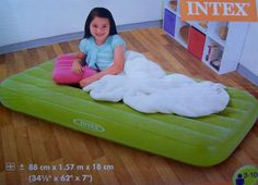 Kinderluftmatratze Luftmatratze Luftbett Gästebett Kinder 88x157x18 bunt Intex   eBay