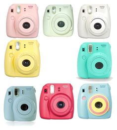 """""""Polaroid Cameras"""" by loveablerose on Polyvore featuring interior, interiors, interior design, home, home decor, interior decorating and Polaroid"""