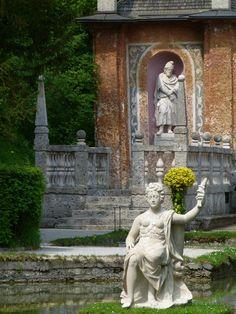 Hellbrunn Palace watergames
