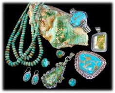 Durango Silver Company produces some of the finest quality Royston Turquoise Jewelry made from Royston Turquoise Cabochons that are hand cut at our location in Durango Colorado USA