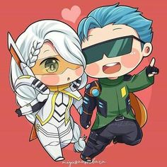 Our lovely sweet couple, Gussion and Lesley. Comment down below who's your favourite couple 👇👇👇 (I need Mlbb couple ideas for my next… Sweet Couple Cartoon, Chibi Couple, Kids Cartoon Characters, Chibi Characters, Mobile Legend Wallpaper, Hero Wallpaper, Anime Girl Neko, Anime Chibi, Cute Cartoon Wallpapers