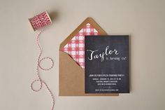 Pizza Party Invitations  Choose Your Colors by simplicitypapers, $27.00