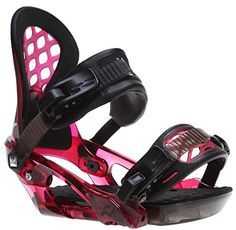 Ride Womens KS Snowboard Bindings 2015 Garnet S ** For more information, visit image link. (This is an affiliate link)