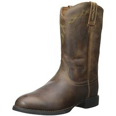 Ariat Women's Heritage Roper Western Cowboy Boot -- You can find more details by visiting the image link. (This is an affiliate link) #TeamSports