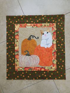 Pumpkins for Bartleby Quilt Pattern download from Annie's Craft Store. Order here: https://www.anniescatalog.com/detail.html?prod_id=138053&cat_id=1644