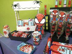 Imágenes y Decoraciones de cumpleaños con imprimibles del hombre araña