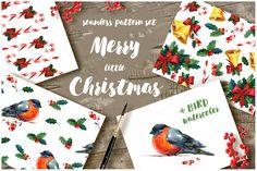 Christmas pattern set  @creativework247