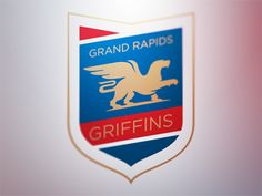 Grand Rapids Griffins Logo Concept 1 designed by Fraser Davidson. Connect with them on Dribbble; Grand Rapids Griffins, Griffin Logo, Sports Team Logos, Hockey Games, Design Competitions, Ferrari Logo, Logo Concept, Cool Logo, Best Games