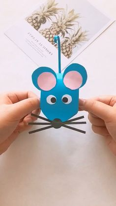 basteln 16 Simply Creative Paper Crafts For Kids - Origami Kids Origami, Paper Crafts Origami, Paper Crafts For Kids, Diy Home Crafts, Paper Crafting, Diy For Kids, Easy Crafts, Arts And Crafts, Origami Owl