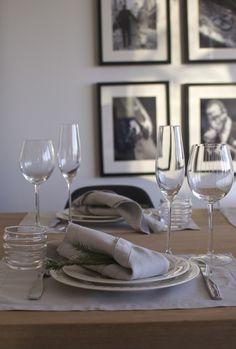 grey-white table setting // Pentik / Iittala at Syyskuun Kuudes blog