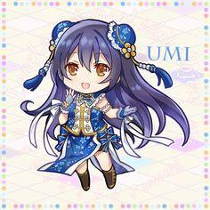 Umi Love Live, Beautiful Dark Art, Snow Art, Kawaii, Anime Chibi, Anime Love, Female Characters, Muse, Idol