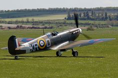 Built at Westland facility Yeovil,Supermarine Spitfire AR213 is 2nd aircraft to be repainted for Eagle Squadron.One of last Mk I variants produced,this aircraft never saw combat & in new colours masquerades as Mk IIA,serial P7308 coded XR-D,flown from RAF North Weald by Pilot Officer William R.Dunn of 71 'Eagle' Squadron,RAF Volunteer Reserve.He survived the war & served in Vietnam before retiring as Lieutenant Colonel,February 1973.Died February 14,1995. Image © Daniel Butcher