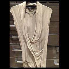Zara Tunic Beige Zara dress/tunic. Worn 1 time. Size: XS Zara Dresses